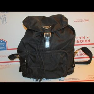 Vintage Prada Nylon Backpack